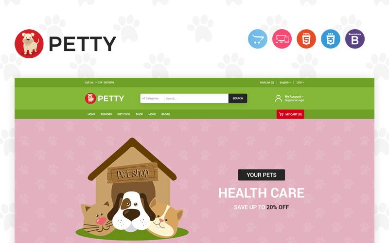 Plantilla Petty OpenCart