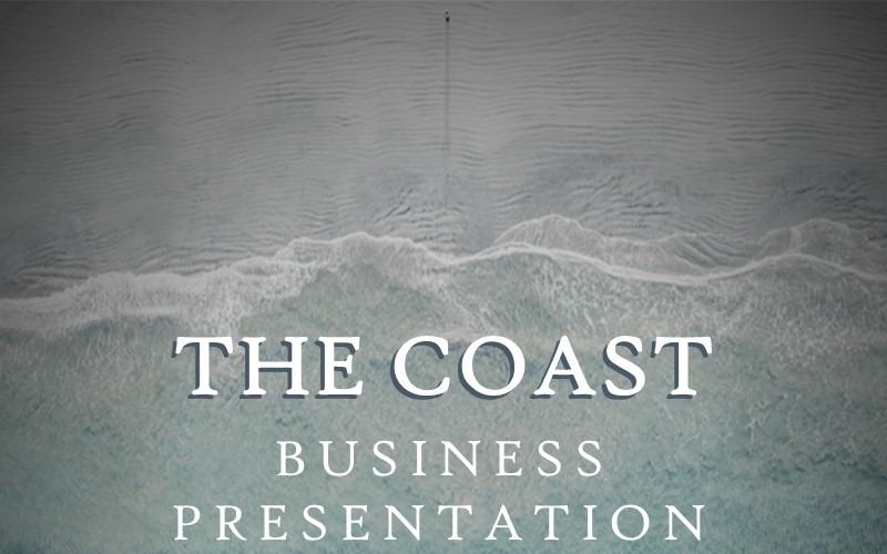 COASTS - World PowerPoint sablonunk ihlette