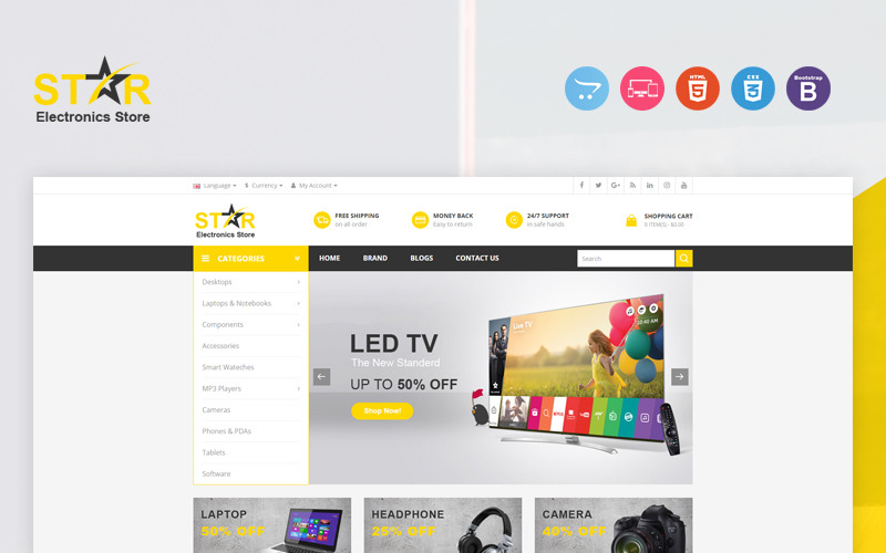 Star OpenCart Template