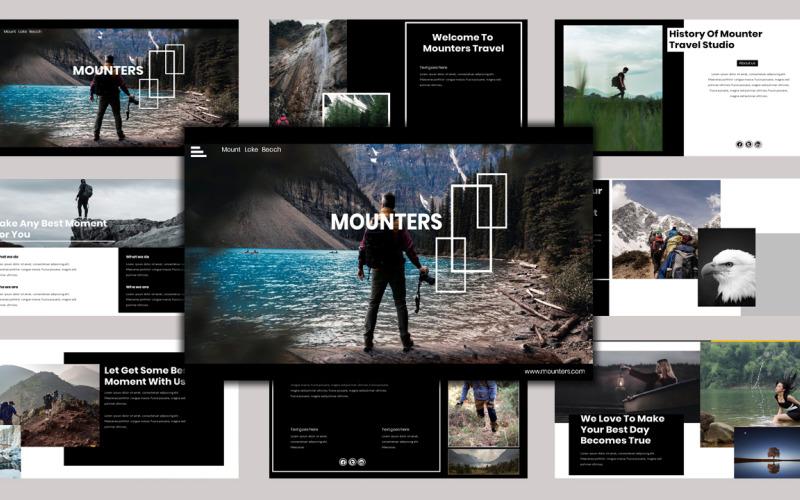 Mounter - Creative Business PowerPoint-sjabloon