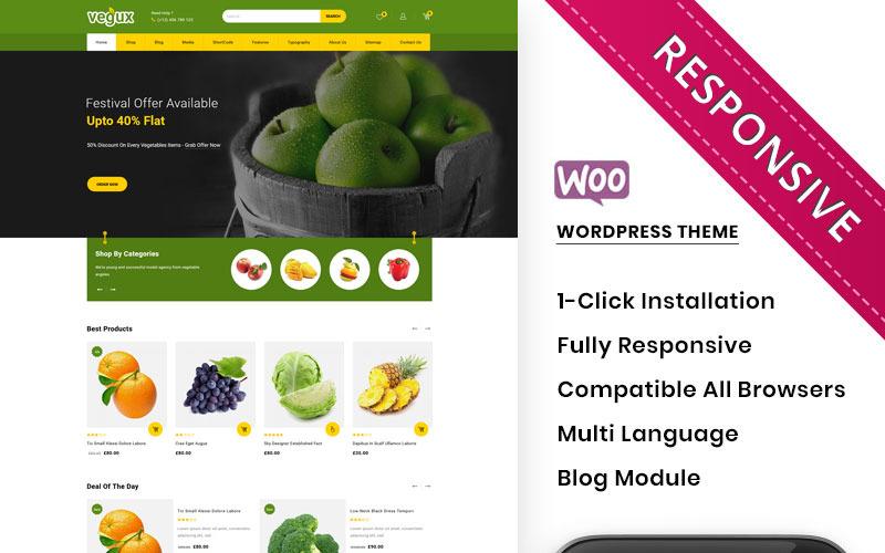 Vegux - Het Mega Grocery Store WooCommerce-thema