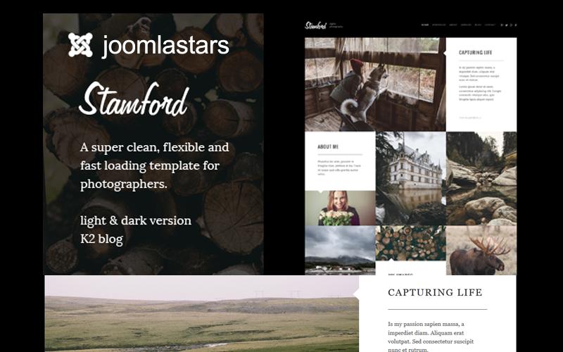 Stamford - Photography, Portfolio And Blog Joomla Template
