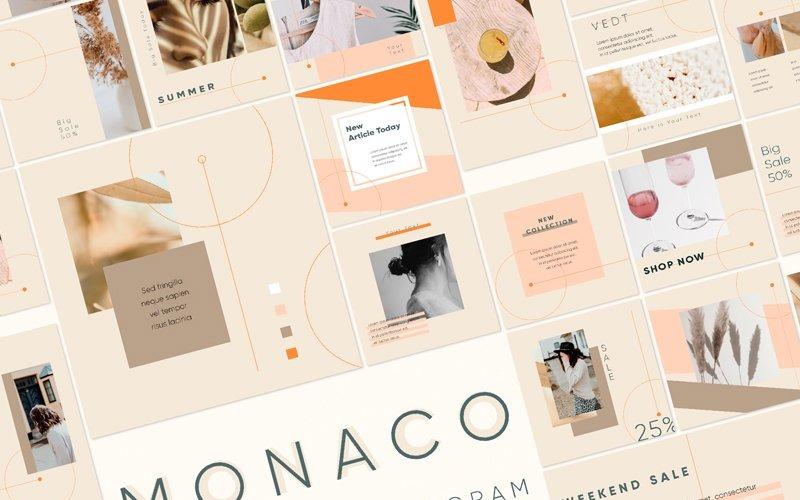 MONACO Social Media Template