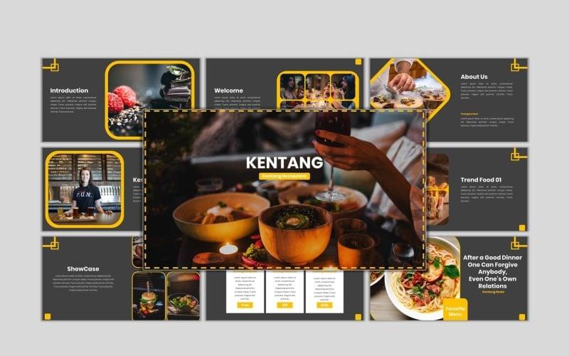 Kentang - Creative Business PowerPoint template