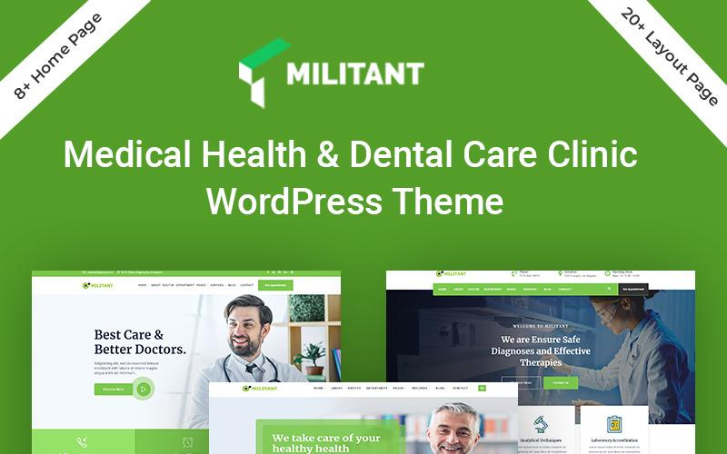 Тема WordPress для боевиков-медицины и здравоохранения