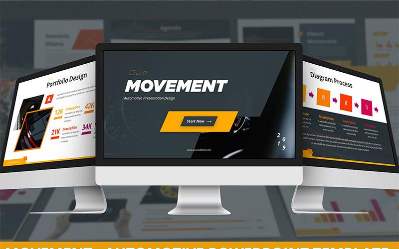 Movement - Automotive PowerPoint Template