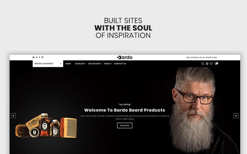 Bardo - The Beardo & Fashion Premium Shopify Theme
