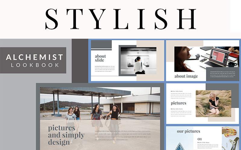 Alchemist Lookbook - Keynote template