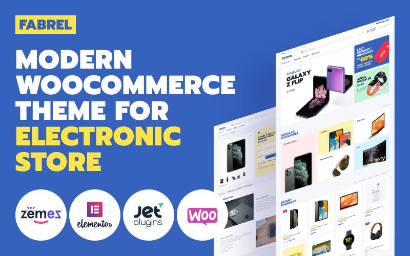 Fabrel - Electronics Store Online WooCommerce Theme
