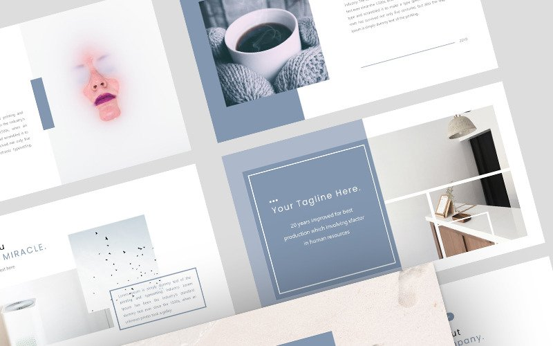 Miracle Creative Business - Keynote template