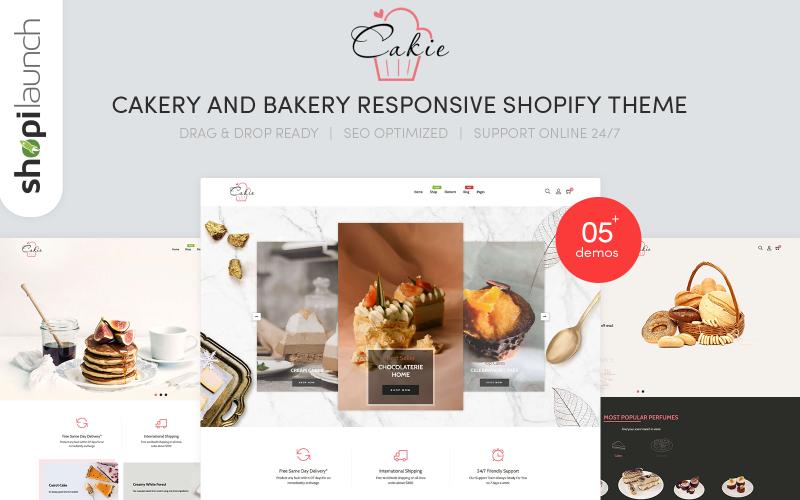 Cakie - Cakery & Bakery Responsive Shopify Theme