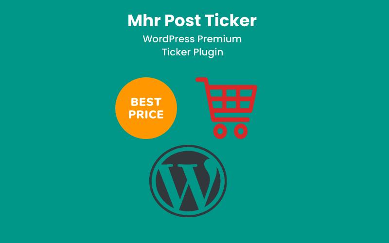 Complemento de WordPress Mhr Post Ticker