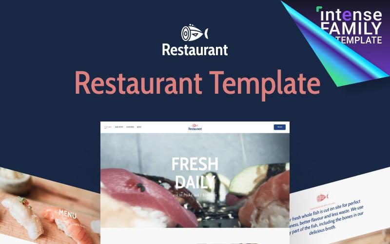 Seabay - Local Seafood Restaurant Website Template