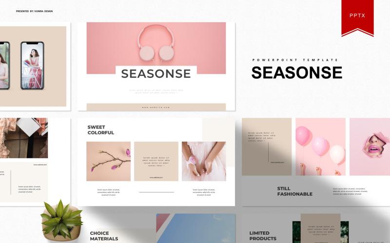 Seasonse | Plantilla de PowerPoint