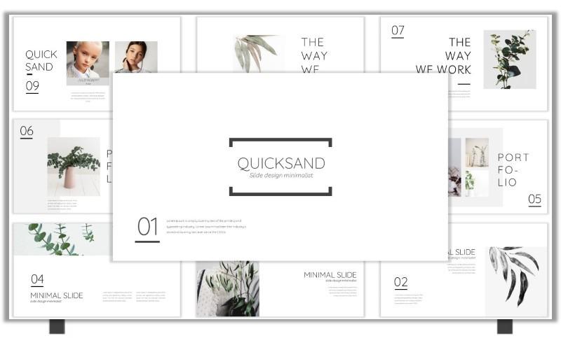 Diapositivas de Google Quicksand