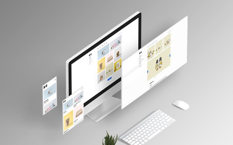 Hacer - Plantilla de sitio web HTML de cartera mínima limpia