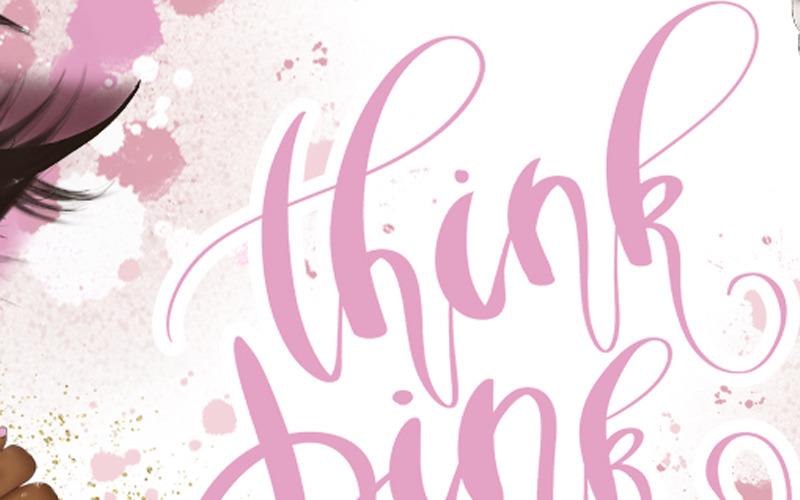 Imágenes prediseñadas y patrones de Think Pink - Ilustración