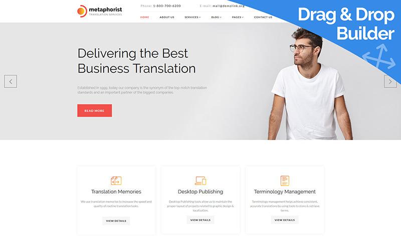 Metaforista - Plantilla Moto CMS 3 de Translation Bureau