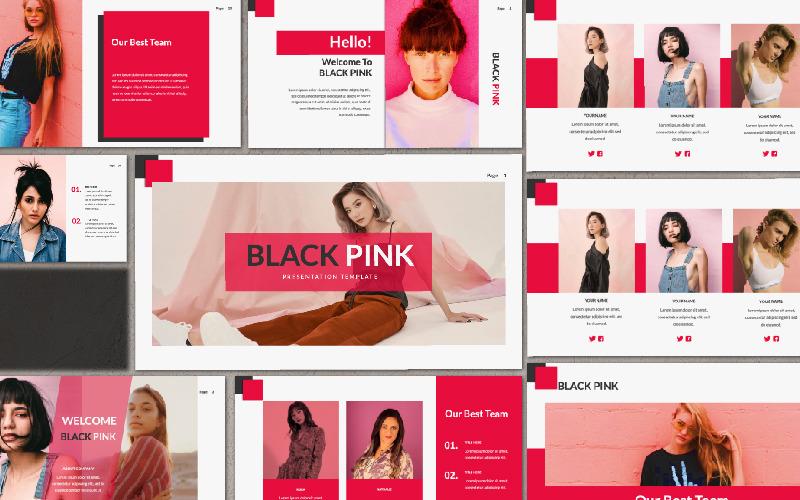 Presentación BLACK PINK Google Slides