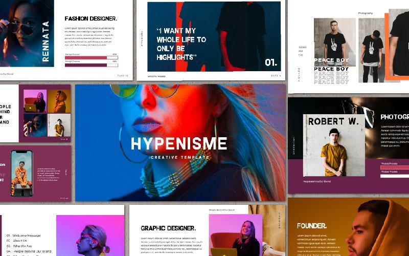 Presentación de Hypenisme - Plantilla de Keynote