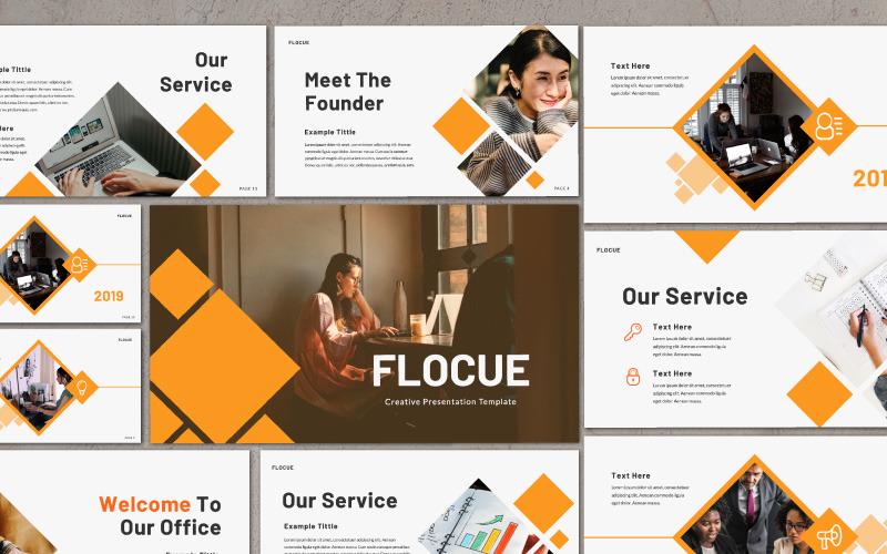Presentación Flocue - Plantilla Keynote