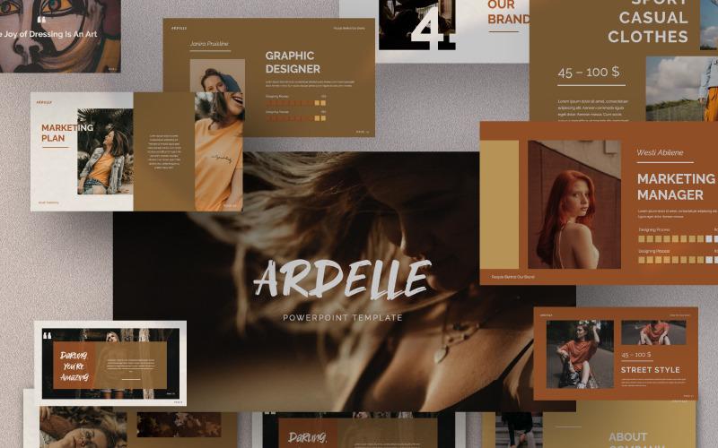 Presentación de ARDELLE - Plantilla de Keynote