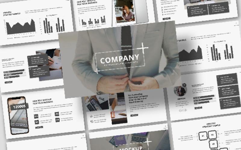 Presentación de la empresa - Plantilla de Keynote