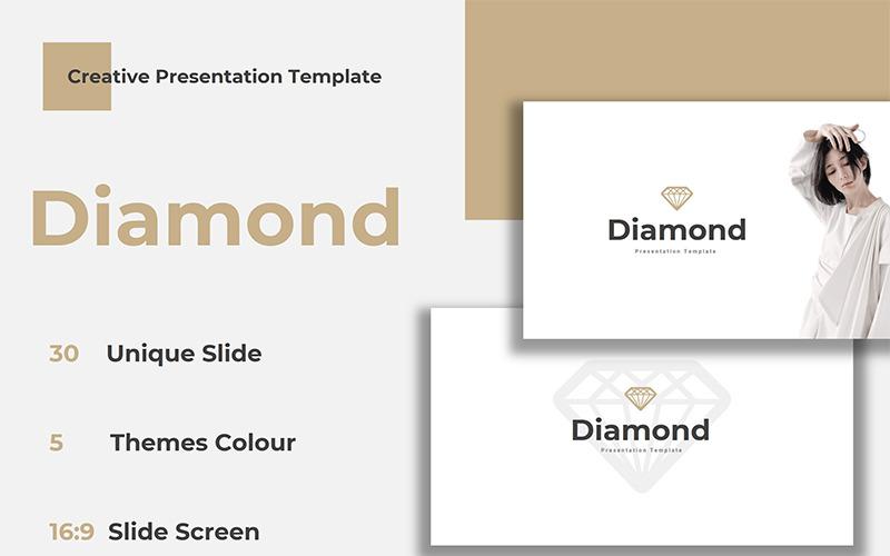 Diamante - Plantilla de Keynote