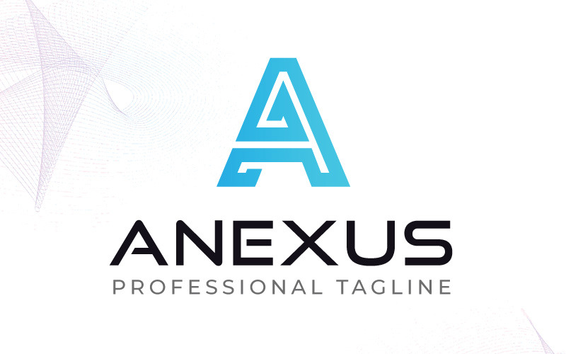 Plantilla de logotipo ANEXUS