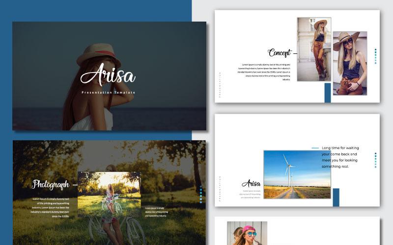 Arisa - Plantilla de presentación de PowerPoint