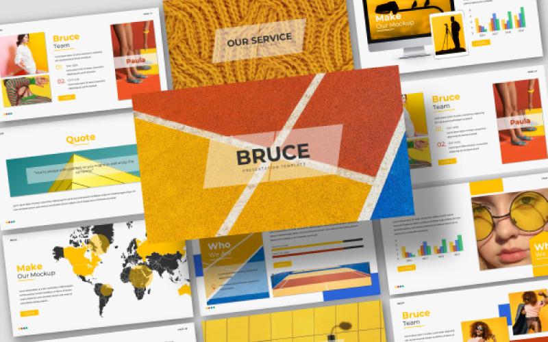 Plantilla de PowerPoint Bruce Creative