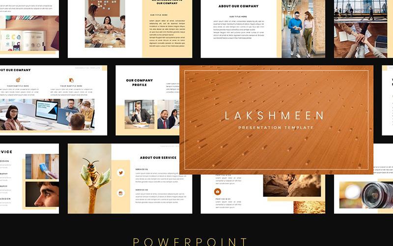 Plantilla de PowerPoint - lakshmeen