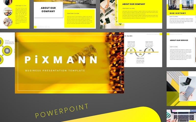 Plantilla de PowerPoint - pixmann