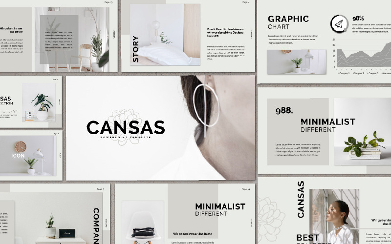 Plantilla de PowerPoint - presentación de CANSAS