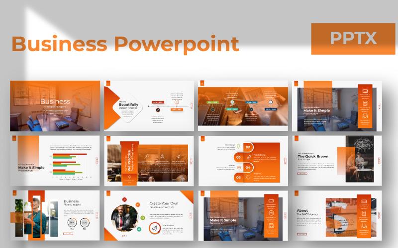 Plantilla de PowerPoint - presentación de negocios
