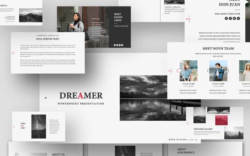 Plantilla de PowerPoint - soñador