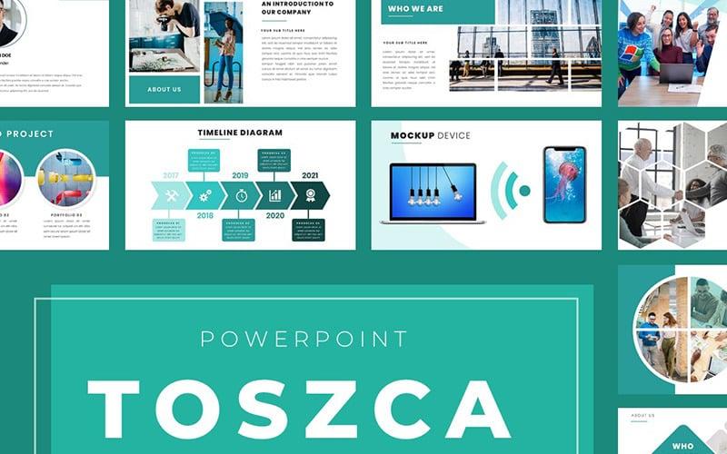Plantilla de PowerPoint - toszca