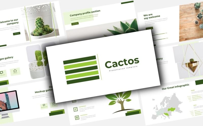 Cactos Creative Business - Keynote template