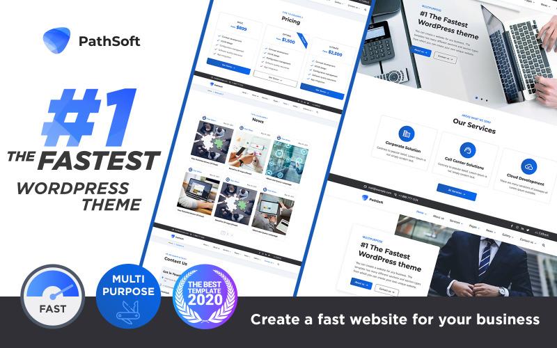 PathSoft - #1 The Fastest Multipurpose WordPress theme