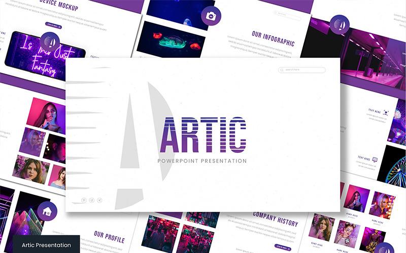 Plantilla de PowerPoint - ártico