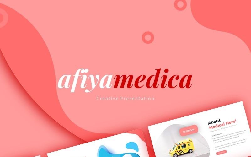 Afiyamedica Medical Presentation Szablony prezentacji PowerPoint