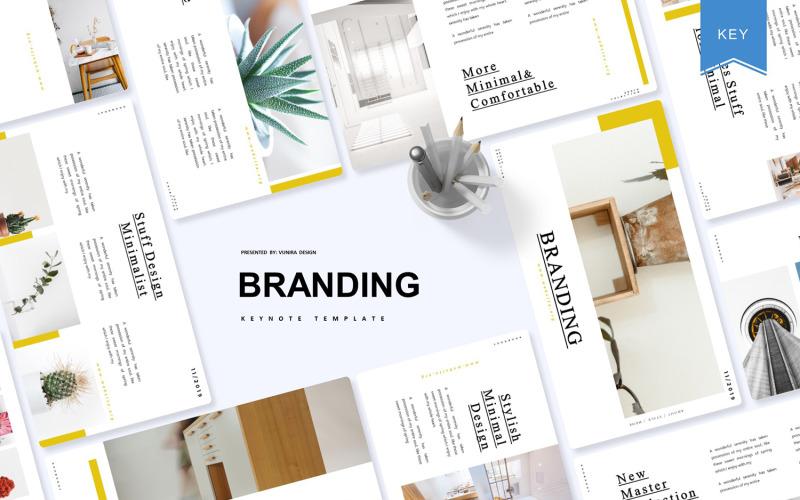 Branding: plantilla de Keynote