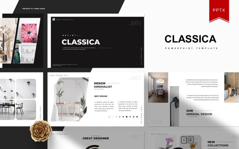 Classica | Plantilla de PowerPoint