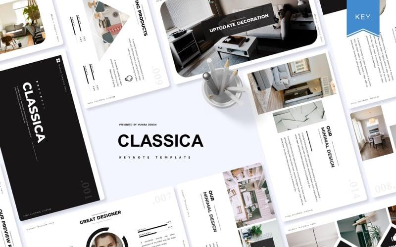 Classica - Plantilla de Keynote