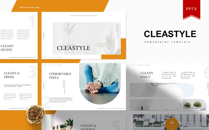 Cleastyle | Plantilla de PowerPoint