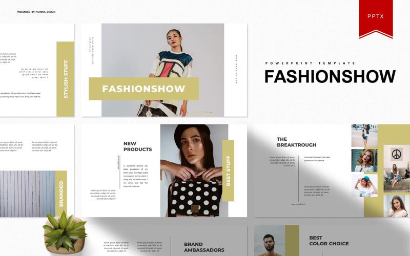 Fashionshow | Plantilla de PowerPoint