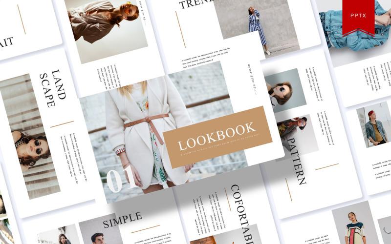 Lookbook   Plantilla de PowerPoint