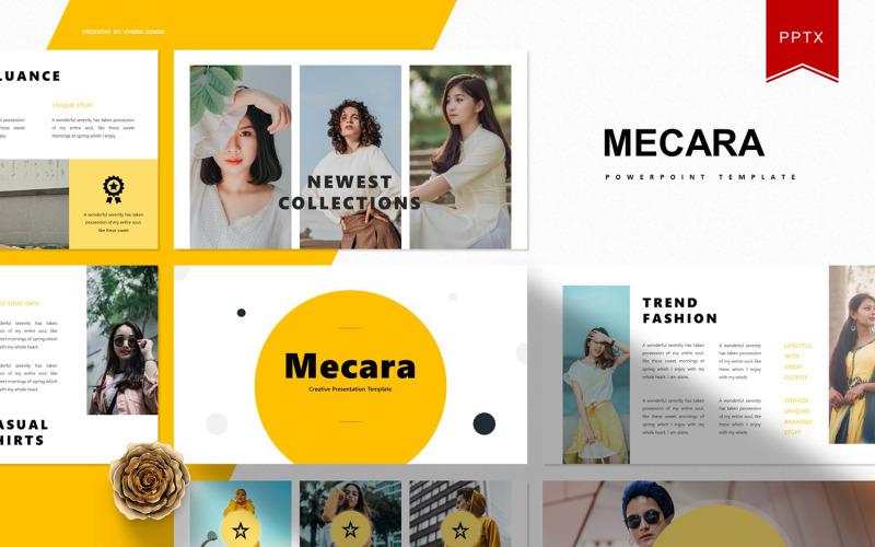 Mecara | Plantilla de PowerPoint