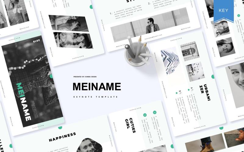 Meiname - Plantilla de Keynote