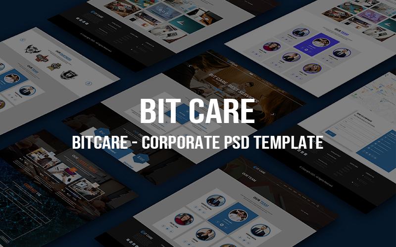 BITCARE - Plantilla PSD corporativa creativa